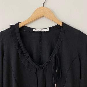 Christian Dior Boutique Silk and Wool Sweater